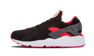 buy online f841d 9804a Image is loading Nike-Air-Huarache-Black-Red-Bred-size-15-