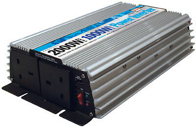 1000w Main Car Camping Power Inverter 230v Ac - 12v Dc With Usb Port