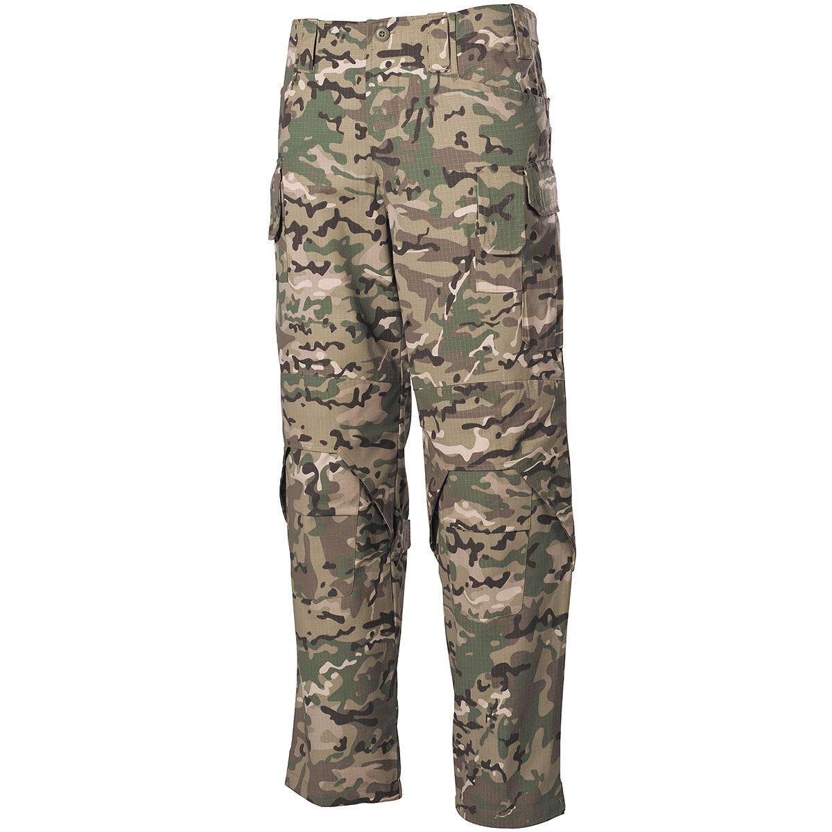 Mfh Mission Bekämpfung Hose Nyco Ripstop Militär Cargo Pants Operation Camo