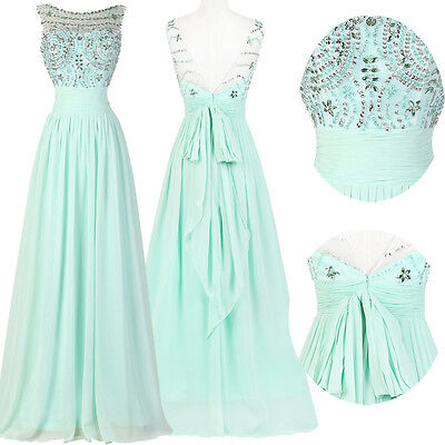 GRADUATION QUINCEANERA MASQUERADE LONG PROM FORMAL EVENING PARTY DRESS PLUS SIZE