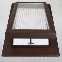 Polycarbonate Roof Vent Sky Light 25mm Brown