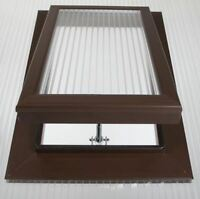 Polycarbonate Roof Vent Sky Light 25mm Brown