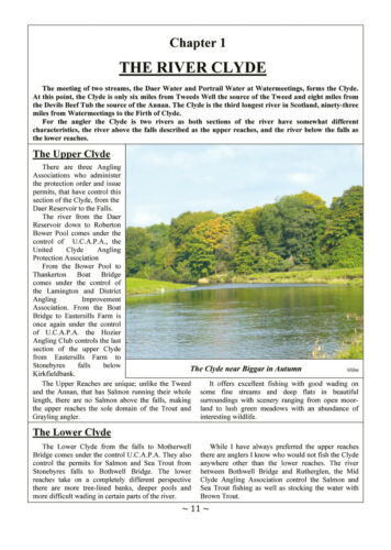 New Edition Anglers Book of the Clyde