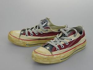 Details about New Men's Converse Chuck Taylor AS RUMMAGE OF STARS & BARS Shoes Size US 3 1V831