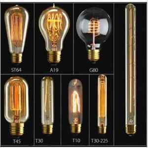 E27-E14-Antique-Edison-Bulb-Tungsten-amp-LED-Light-Vintage-Retro-Industrial-Lamp