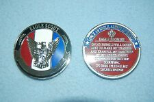 Boy Scouts Of America Eagle Scout Engraveible Challenge Coin