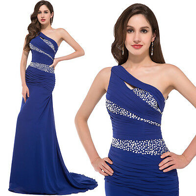 Long Mermaid Sequined Evening Formal Cocktail Party Gown Prom Bridesmaid Dresses