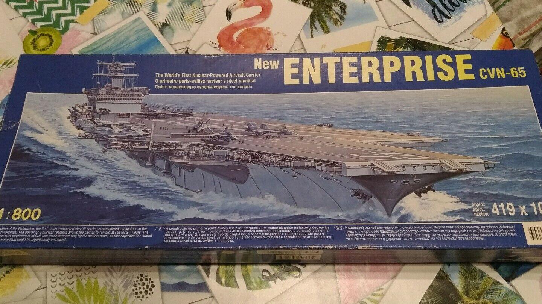 Maquette Porte Avion New Enterprise CVN -65