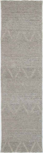 2 Sizes *FREE DELIVERY Details about  /Amble Bohemian Tribal Taupe Grey Hand Woven Rug Runners