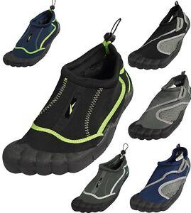 bb8236714418 Mens Water Shoes Aqua Socks Surf Yoga Exercise Pool Beach Dance Swim ...
