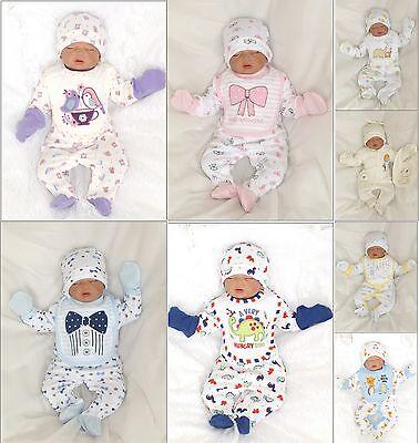 Straightforward Nuevo 5tlg Set Baby Set De Inicio Equipamiento Pelele 50 56 62 68 Moda Inglesa Packing Of Nominated Brand Baby