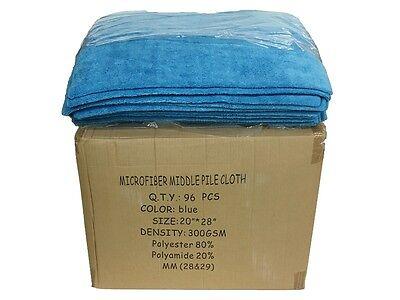 "24 Microfiber 300GSM Professional 20/""x28/"" Salon Towels Light Blue"