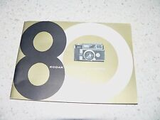 Original Kodak Signet 80 Camera Owner's Manual~Excellent Condition