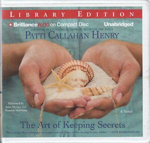 Patti-Callahan-Henry-The-Art-Of-Keeping-Secrets-8CD-Audio-Book-Women-039-s-Fiction