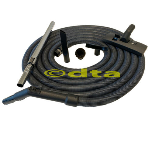 Ducted Vacuum Full Hose Kit 12m For Clean   Attachments   Hanger