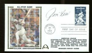 Jim-Rice-Signed-FDC-First-Day-Cover-Autographed-039-83-All-Star-Game-Red-Sox-56219