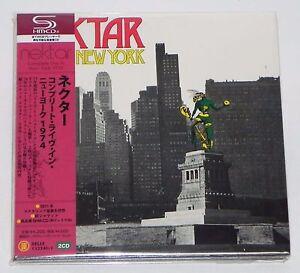 NEKTAR-Complete-Live-In-New-York-1974-JAPAN-2-SHM-CD-Mini-LP-w-OBI
