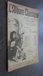Spartiti L Album Per Violino O Mandolino Gury Parigi Ex-libris ABE