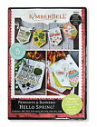 Kimberbell Machine Embroidery CD Hello Spring Pennants & Banners Kd582