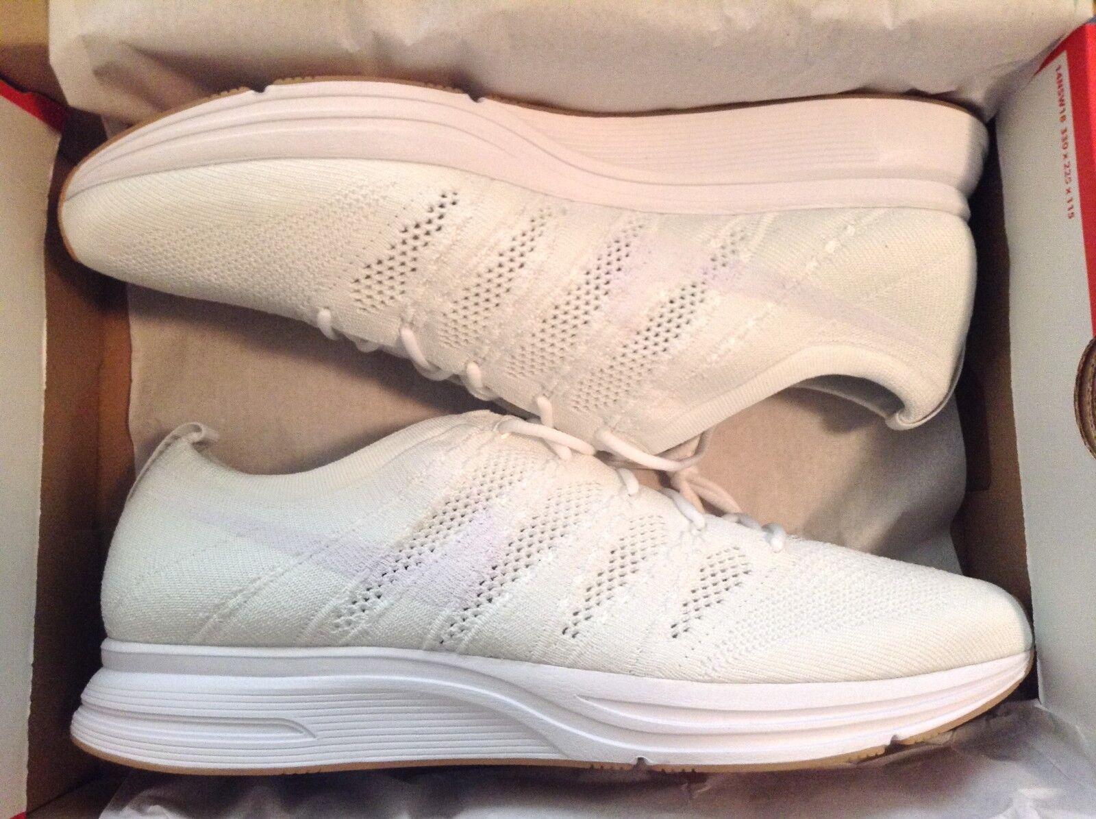Nike flyknit allenatore bianco gomma s taglia 12 s gomma 07a8c4