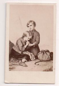 Vintage-CDV-Album-Filler-The-Orphans