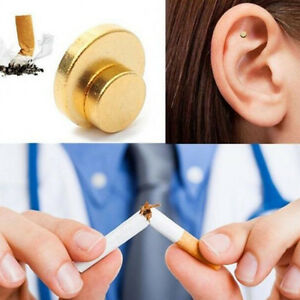 New-Quit-Stop-Smoking-Ear-Magnet-Cigarettes-Magnetic-ear-Acupressure-Zero-Smoke