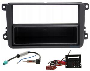 VW-GOLF-5-PASSAT-MKV-1DIN-Stereo-Fitting-Kit-Facia-Wiring-Adaptor-Fascia-Panel