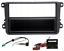 VW-GOLF-5-PASSAT-MKV-1DIN-Stereo-Fitting-Kit-Facia-Wiring-Adaptor-Fascia-Panel miniatura 1