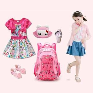 1c7d4d3f2038 Image is loading School-Bag-Schoolbag-Fashion-Kids-Backpacks-Children -Teenage-