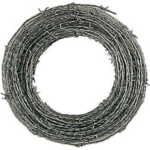 Stacheldraht verzinkt 1,7mm  12,5 m Draht Weidedraht Sperrdraht Absperrdraht