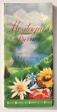 Dépliant touristique SNCF 1938 : Montagnes de France, préface André Maurois
