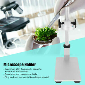 Aluminum-Alloy-Focus-Portable-Adjustable-Stand-Holder-Digital-USB-Microscope