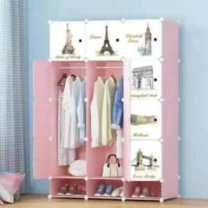Childrens-Kids-Wardrobe-Storage-Boxes-Character-Design-Cube-Shoes-Corner-Storage