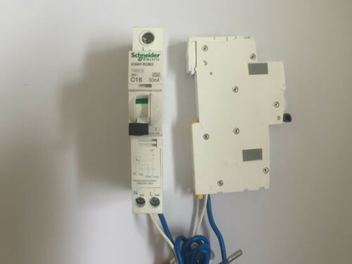 SCHNEIDER ACTI 9 iC60H RCBO Disjoncteur 6 10 16 20 25 32 40 45 Type B ou C