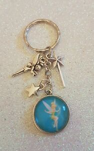 Tinkerbell-Magic-Fairy-Wand-Star-Fairies-Keyring-Bag-Charm-Decoration-Tag-Gift