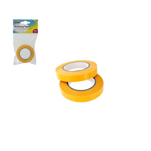 The Model Craft Collection Twin Pack Precision Masking Tape (10mm x 18m) PMA2010