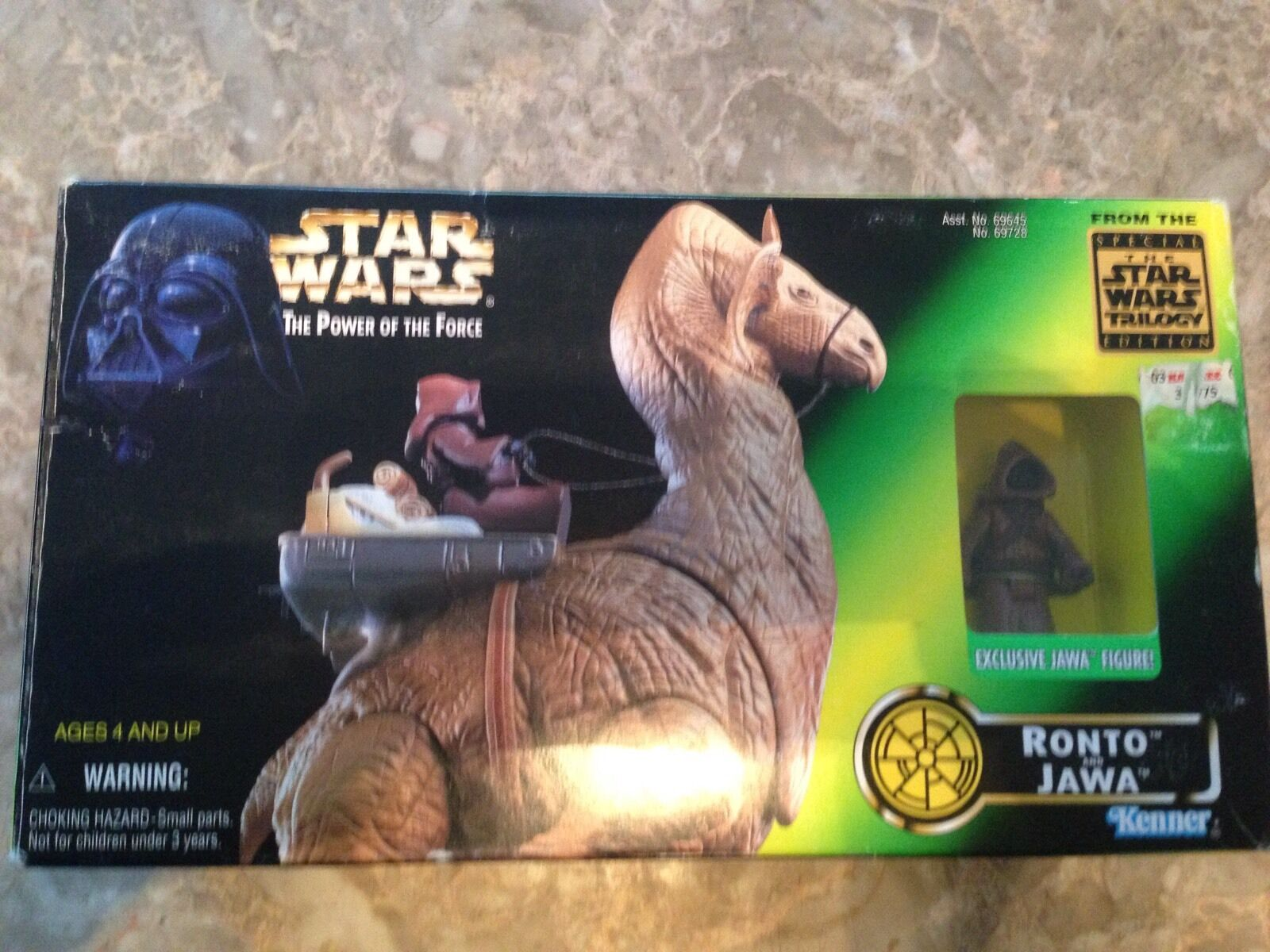 Star Wars Power of the Force Ronto and Jawa Special Trilogy Edition 69728 NIB