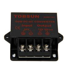 Dc 24v To Dc 12v 5a 60w Converter Regulator Power Supplies Transformer Reducer