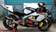 REFLECTIVE-WHITE-RED-GP-STYLE-RIM-STRIPES-WHEEL-DECALS-TAPE-STICKERS-BMW-S1000RR miniature 6