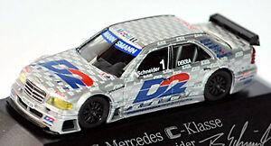 Mercedes-Benz-Clase-C-W202-ITC-1996-AMG-D2-1-B-SCHNEIDER-1-87-Herpa