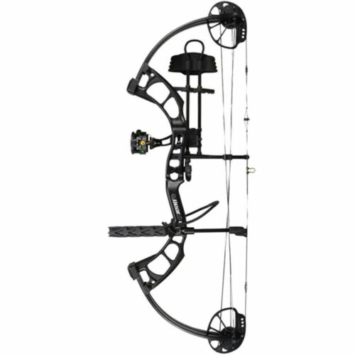 New Bear Archery Cruzer X RTH 5-70# Right Hand Black Bow Package