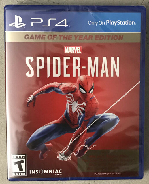 Spider-Man Game of the Year Edition Marvel - Sony PlayStation 4 PS4 - BRAND NEW