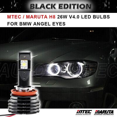 Mtec Maruta H8 V4 26w Led Angel Eye Bulb For Bmw E70 X5 X5m 2007 2013 Ebay