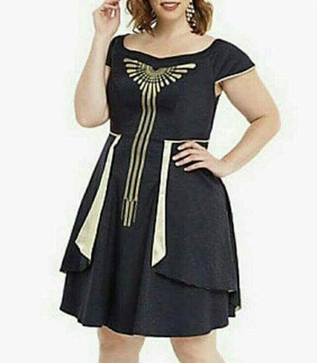 NWT damen Torrid Harry Potter Fantastic beasts Seraphina Dress Größe 16 X Large