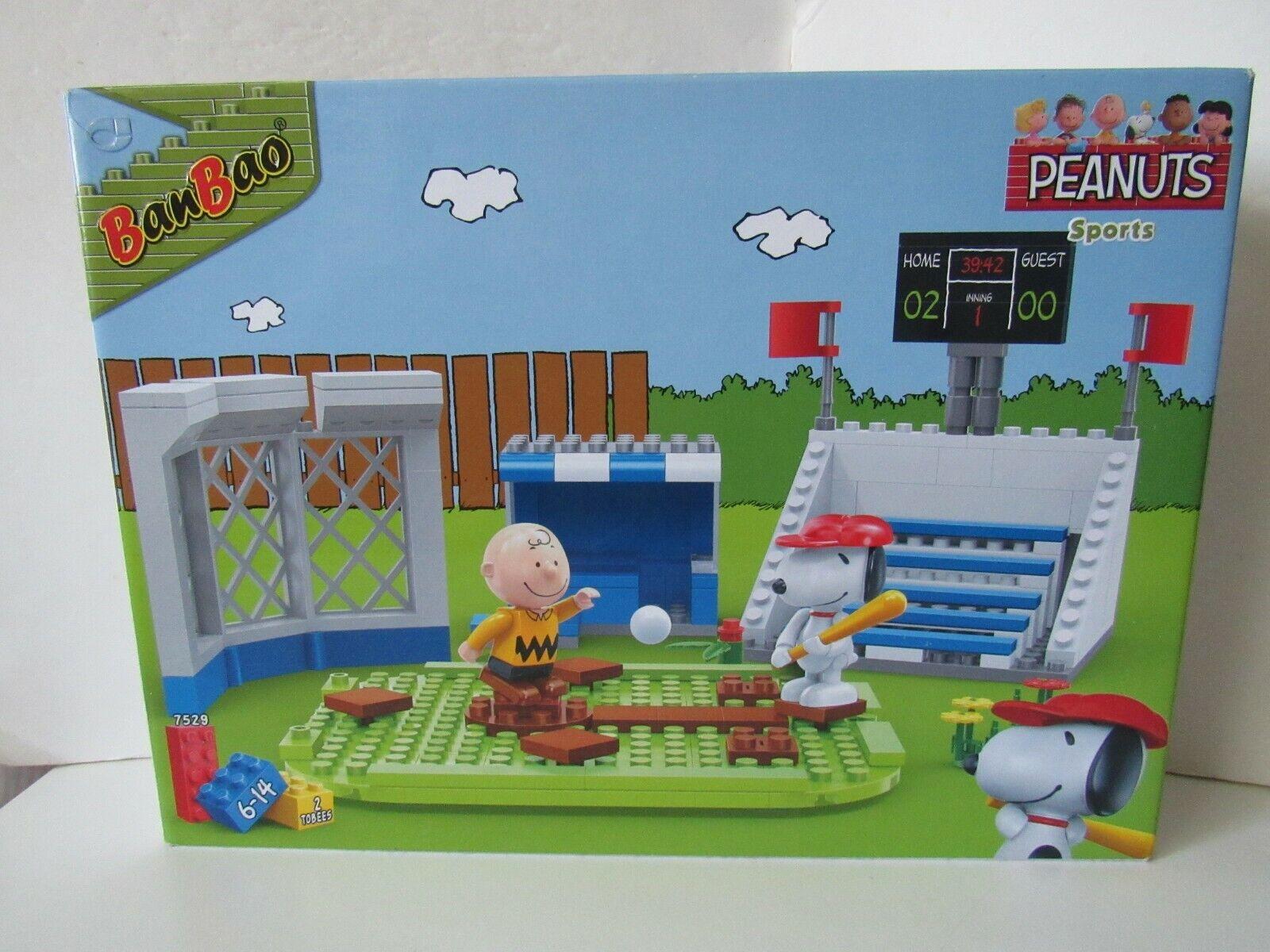 Banbao Peanuts Snoopy Peanuts Deportes bloque de construcción Set  7529