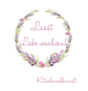 Details Zu Aufkleber Hochzeit Gastgeschenk Taufe Lasst Liebe Wachsen 4cm 24 2
