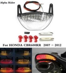 INTEGRATED-Led-Turn-Signal-LED-Break-Tail-Light-For-2007-2012-HONDA-CBR600RR