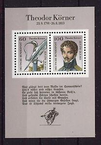 ALEMANIA-RFA-WEST-GERMANY-1991-MNH-SC-1685-Theodor-Korner-poet