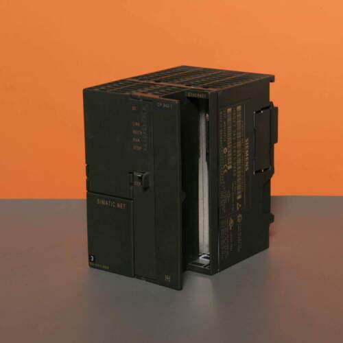 SIEMENS NET CP Industrial Ethernet 6GK7343-1EX11-0XE06GK7 343-1EX11-0XE0 E:2