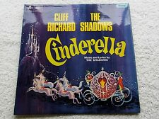 Cliff Richard Shadows Cinderella Original UK Vinyl Album